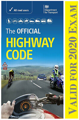 The official DVSA highway code (2020) by driver and vehicle standards agency Hw