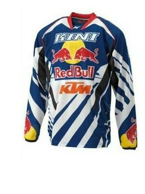Kini Ktm Red Bull Competition Motocross Jersey Official 2018 Neu Xxl