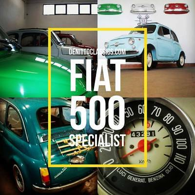 Fiat 500 L Fully restored - Restoration project - by ClassicItalianCar.com