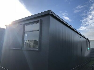 32 x10 ft  Anti Vandal  Canteen / Office Portable Site Canteen Container