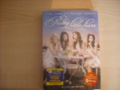 Pretty Little Liars: The Complete Second Season [6 Disc (2012, REGION 1 DVD New)