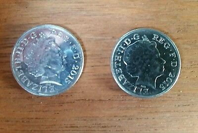 Double Sided Coin, Ten Pence. Heads 10p. Headed