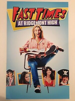 Fast Times at Ridgemont High 11x17 Movie Poster (1982)
