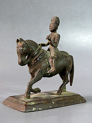 Beautiful & Rare Antique Human Ride a Horse Cheap Don't Miss