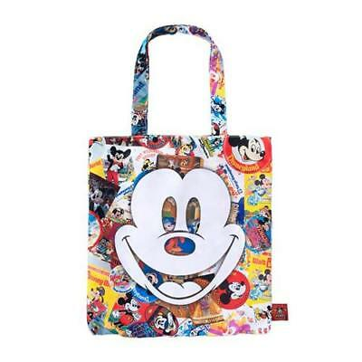 78f9e9425d Mickey Mouse tote bag 90th anniversary Tokyo Disney Resort Limited TDL  697