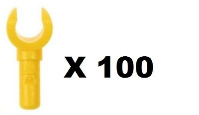 LEGO 10 X YELLOW HANDS FOR MINIFIGURE NEW