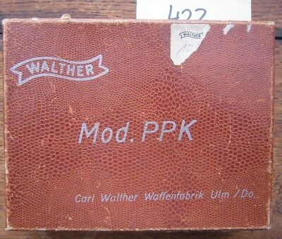 Walther PPK - original Box/Karton 1950´s -alligator style, factory made, Germany