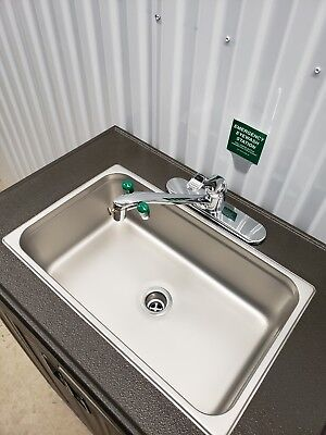 Eye wash Station and sink 2 in1 Eye Wash and full size sink  USA Made