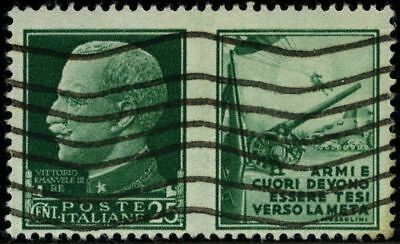 Italy 1942 stamps commemorative USED Sas 2 CV < $5.00 181028312