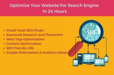 Search Engine Optimization Service for your Website -Yoast Plugin- SEO