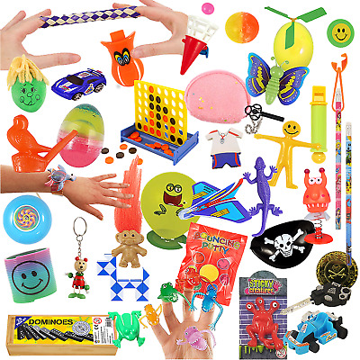 1-50 Key Spring Butterfly Girls Childrens Party Bag Fillers Kids Toy Gift Prizes