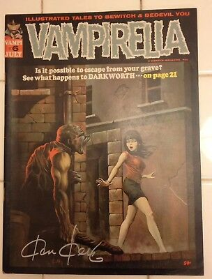 VAMPIRELLA Issue #6 Signed by Artist Ken Kelly with COA FN+ !!!
