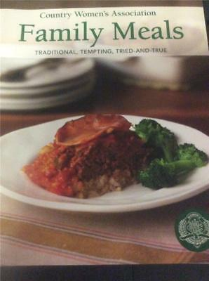 The Country Women's Association Cookbook CWA , FAMILY MEALS Tempting Recipes