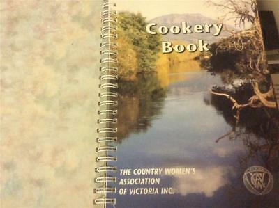 The Country Women's Association of Victoria Cookbook CWA , Cookery Book Recipes