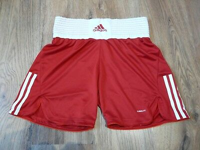 Women's Adidas Climalite Boxing Shorts Size 12 D38 (N286)