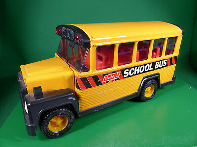 Buddy L   US School Bus - Made in Japan - Blechspielzeug - Tinplate