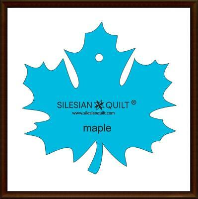 Template for cutting applique Leaf Maple