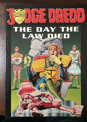 Titan Books/2009 AD Judge Dredd, The Day the Law Died Wagner Bolland McMahon