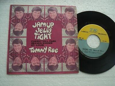 TOMMY ROE - Jam up jelly tight +3  Rare THAILAND only release EP
