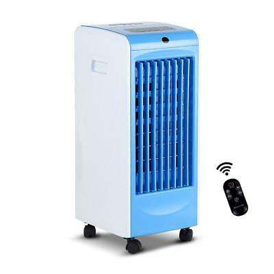 Blue Evaporative Air Cooler and Portable Fan Humidifier Conditioner Cooling