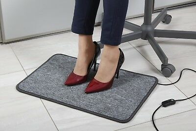 230V Electric Heating Mat | Heated Pad Carpet Rug Foot Warmer Space Heater Dryer