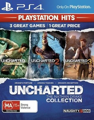 Uncharted The Nathan Drake Collection (PlaySta  - PlayStation 4 game - BRAND NEW