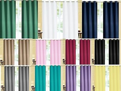 Cardi THERMAL Window Curtain Set Reflect Back - Two Panels All Size / Colors
