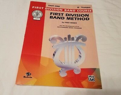Bb Trumpet  First Division Band Method  Book Part One Music