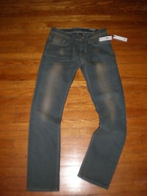 NWT Buffalo David Bitton EVAN-X Slim Straight Stretch Jeans SZ: 30 X 32 $119.00