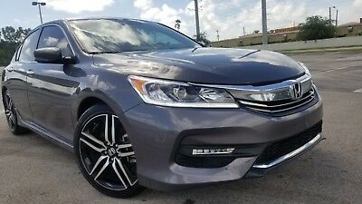 2017 Honda Accord SPORT EDITION 2017 HONDA ACCORD SPORT HALF LEATHER BACK CAMERA 11K MILES RUNS GREAT BEST OFFER