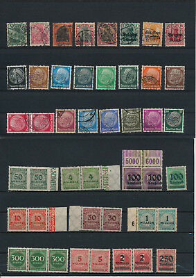 Germany, Deutsches Reich, Nazi, liquidation collection, stamps, Lot,used (DG 43)