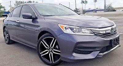 "2016 Honda Accord LX SPORT WHEELS 2016 HONDA ACCORD BACK CAMERA SPORT 19"" WHEELS 27K MILES RUNS GREAT BEST OFFER"