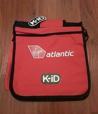 Virgin Atlantic Red K - iD Back / Travel Pack NWT