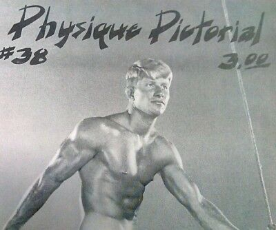 Physique pictorial 38  vintage Gay interest magazine