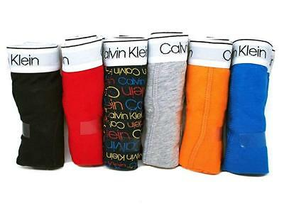 Calvin Klein Boys Kids Youth Underwear Boxer Brief Cotton Stretch 6 Pack M L XL