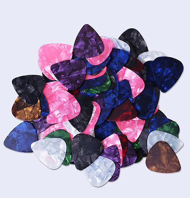 Multicolor 15pcs 0.46mm Celluloid Acoustic Electric Guitar Pick Picks Plectrum
