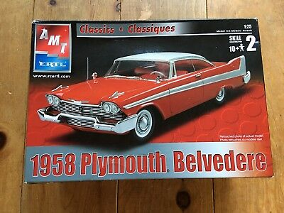 AMT ERTL Classics 1958 Plymouth Belvedere 1:25 *new in open box*