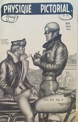 Tom of Finland- Physique Pictorial volume 16 number4 gay interest magazine