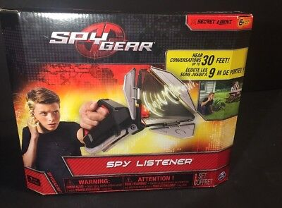 "Spy Gear  Secret Agent "" Spy Listener ""By Spin Master"