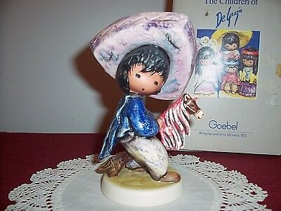"Vintage 1984 Goebel DeGrazia Figurine ""My First Horse"" W. Germany"