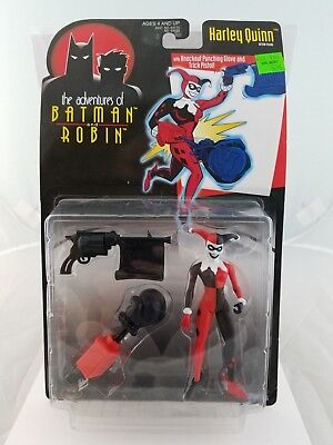 Batman and Robin Animated series Harley Quinn Action Figure New Kenner DC 1997