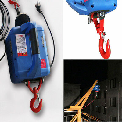 110V PORTABLE ELECTRIC Winch With Wireless Remote Control