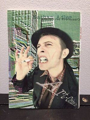"""David Bowie """"Outside"""" Promotional Postcard Book 1995/New & Sealed"""