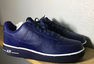 buy online 2e955 7b047 RARE Mens Nike Air Force 1 Low 07 PIVOT PACK Sz 10.5 Loyal Blue Leather  White