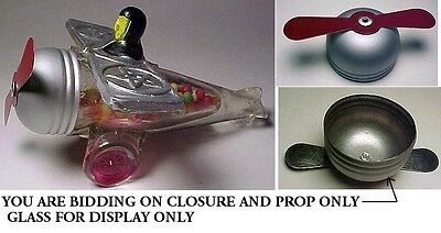 Spirit Of Goodwill Nose Cone & Prop For Glass Candy Container