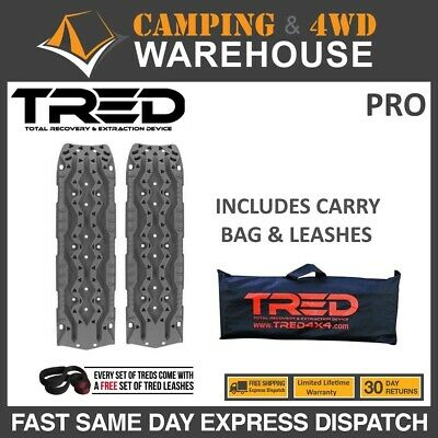 Tred Pro Recovery Tracks Grey 4X4 Extraction Board With Leash- Bag-Free Delivery