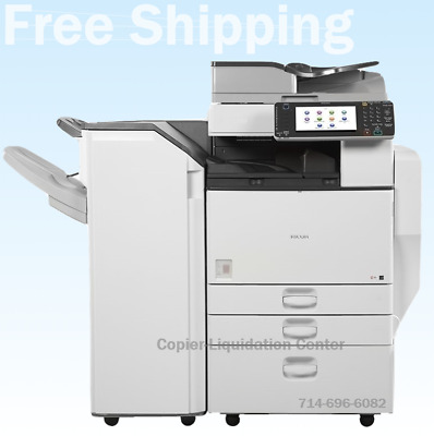 Ricoh MPC5502,MP C5502 Color Copier, Finisher Speed 55ppm, ultra low meter l