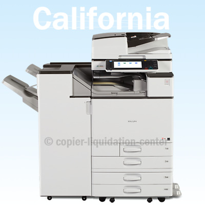 Ricoh MPC5503 Color Copier, Printer, Scan, 55ppm - Ultra Low Meter aw