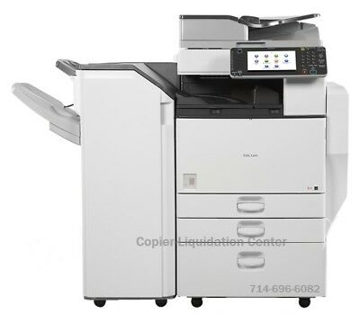 Ricoh MPC5502,MP C5502 Color tabloid copier, Finisher Speed 55 ppm, lil