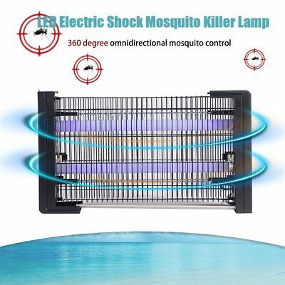 Electronic Outdoor Mosquito Control Lamp Insect Zapper Bug Pest Killer Light AU